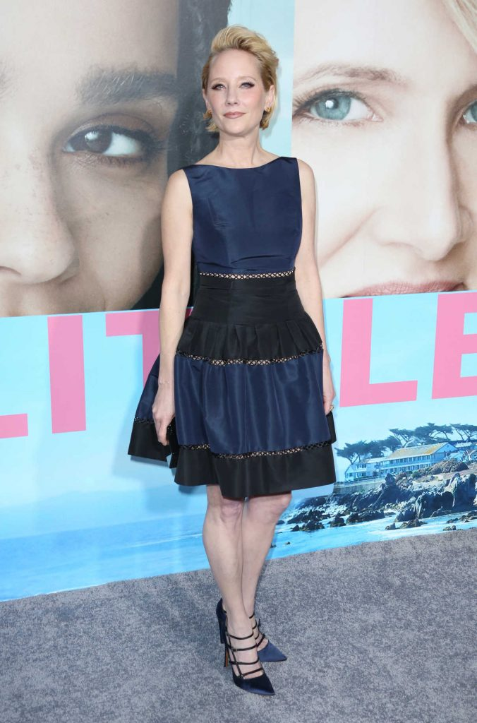 Anne Heche at the Big Little Lies Premiere at TCL Chinese Theaterin Los Angeles 02/07/2017-1