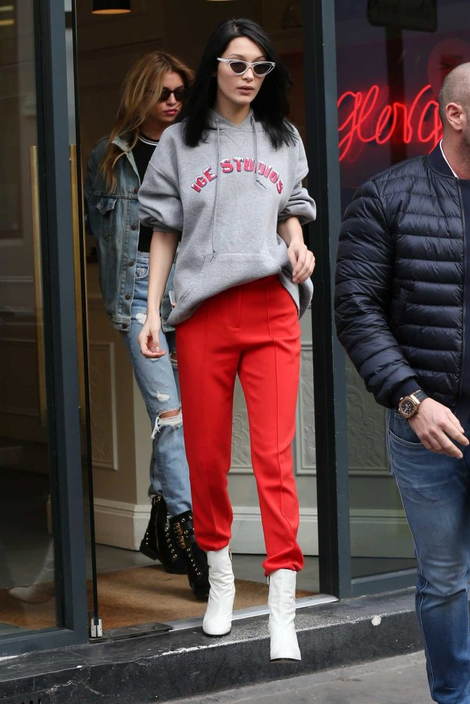 Bella Hadid Was Seen Out in London 02/20/2017-1