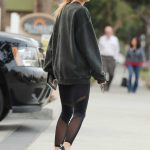 Charlotte McKinney Visits an Office Santa Monica 02/02/2017-4