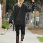 Charlotte McKinney Visits an Office Santa Monica 02/02/2017-5