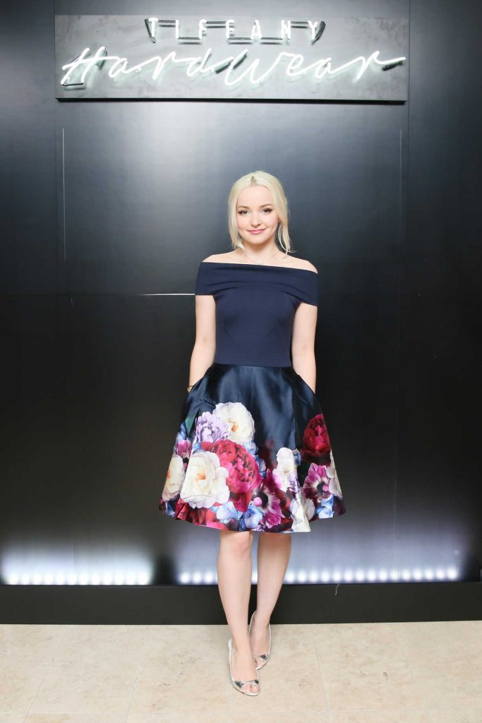 Dove Cameron at the Tiffany and Co. HardWear Launch Party During New York Fashion Week 02/07/2017-1