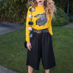 Ella Eyre at the Marcus Lupfer Presentation During the London Fashion Week 02/18/2017