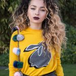 Ella Eyre at the Marcus Lupfer Presentation During the London Fashion Week 02/18/2017-3