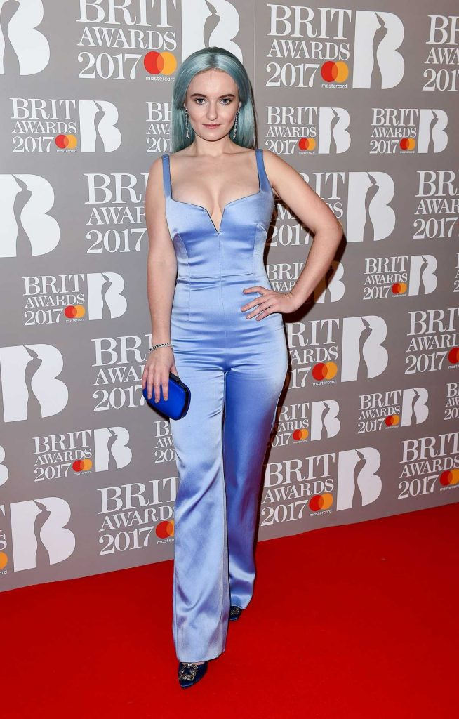 Grace Chatto at the Brit Awards at O2 Arena in London 02/22/2017-1