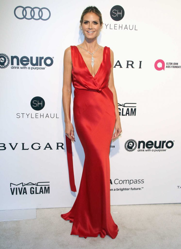 Heidi Klum at Elton John AIDS Foundation Academy Awards Viewing Party in Los Angeles 02/26/2017-1