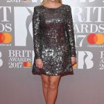 Holly Willoughby at the Brit Awards at O2 Arena in London 02/22/2017-2