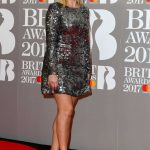 Holly Willoughby at the Brit Awards at O2 Arena in London 02/22/2017-3