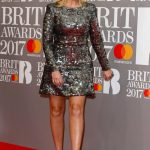 Holly Willoughby at the Brit Awards at O2 Arena in London 02/22/2017-4