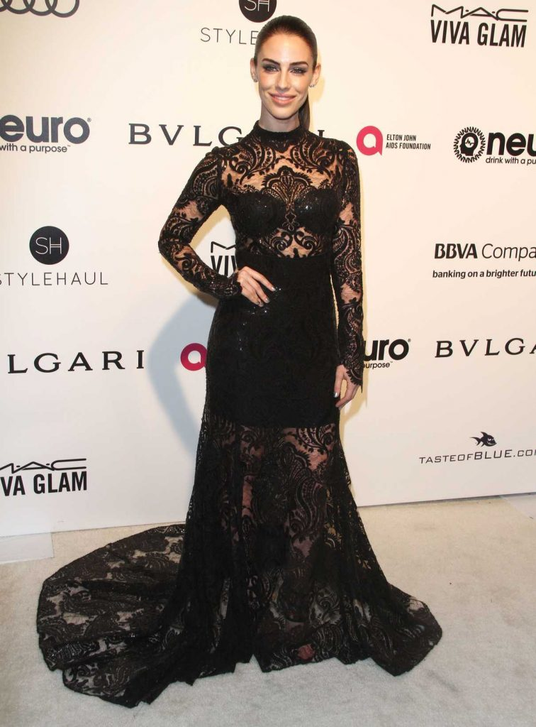 Jessica Lowndes at Elton John AIDS Foundation Academy Awards Viewing Party in Los Angeles 02/26/2017-1