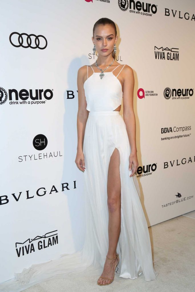 Josephine Skriver at Elton John AIDS Foundation Academy Awards Viewing Party in Los Angeles 02/26/2017-1