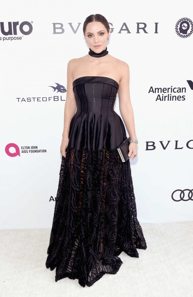 Katharine McPhee at Elton John AIDS Foundation Academy Awards Viewing Party in Los Angeles 02/26/2017-1