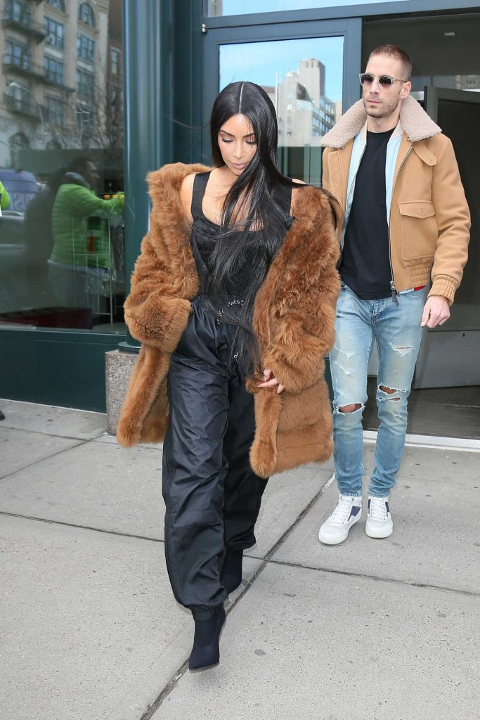 Kim Kardashian Was Seen Out in New York 02/17/2017-1