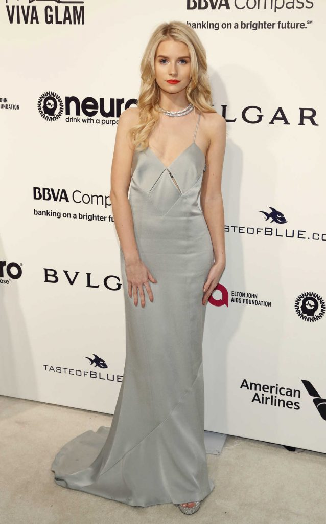 Lottie Moss at Elton John AIDS Foundation Academy Awards Viewing Party in Los Angeles 02/26/2017-1