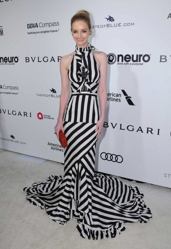 Lydia Hearst at Elton John AIDS Foundation Academy Awards Viewing Party in Los Angeles 02/26/2017-1