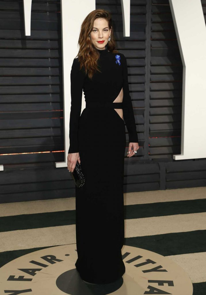 Michelle Monaghan at the 2017 Vanity Fair Oscar Party Hosted by Graydon Carter in Beverly Hills 02/26/2017-1