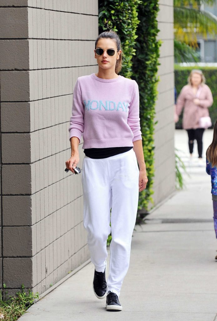 Alessandra Ambrosio Was Seen Out in Brentwood 02/27/2017-1