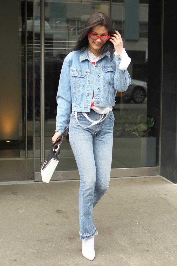 Bella Hadid Leaves Her Apartment in Manhattan 03/18/2017-1
