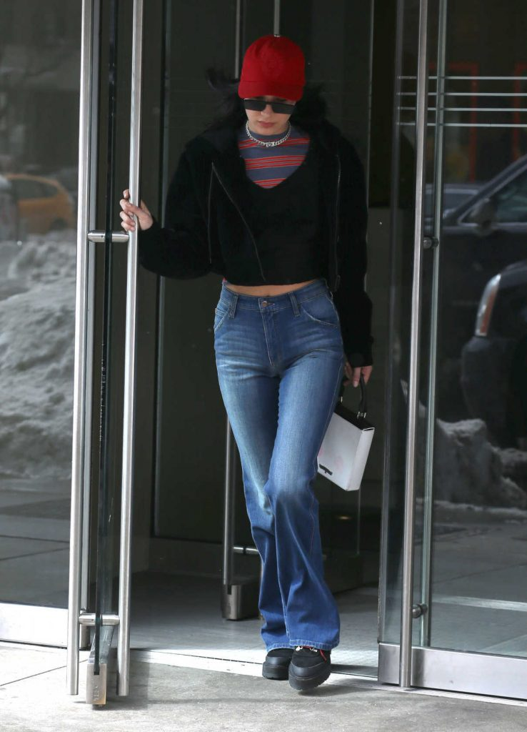 Bella Hadid Was Seen Out in New York City 03/15/2017-1