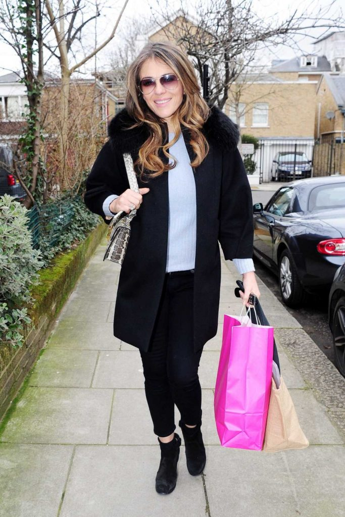 Elizabeth Hurley Goes Shopping Out in West London 03/02/2017-1
