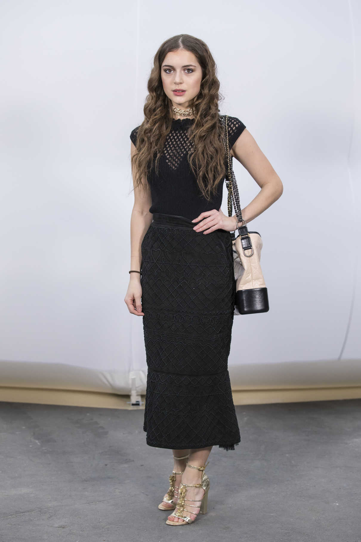 Felice Jankell at the Chanel Show During the Paris Fashion ...