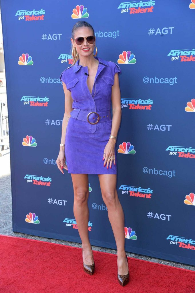 Heidi Klum at America's Got Talent Season 12 Kick off Event in Los Angeles 03/27/2017-1
