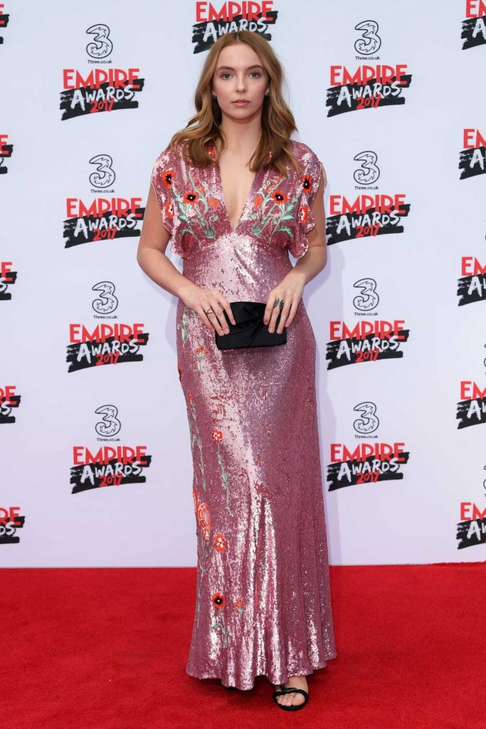 Jodie Comer at the Three Empire Awards at Roundhouse in London 03/19/2017-1
