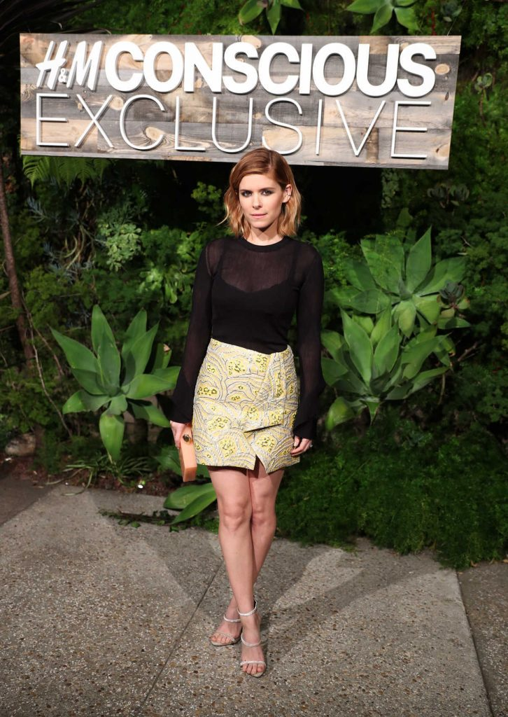 Kate Mara at the H&M Conscious Exclusive Collection Dinner in Los Angeles 03/28/2017-1