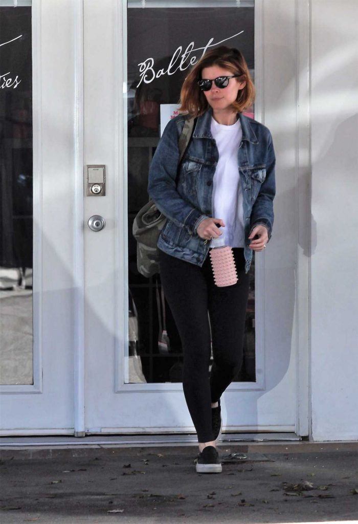 Kate Mara Leaves the Gym in West Hollywood 03/23/2017-1