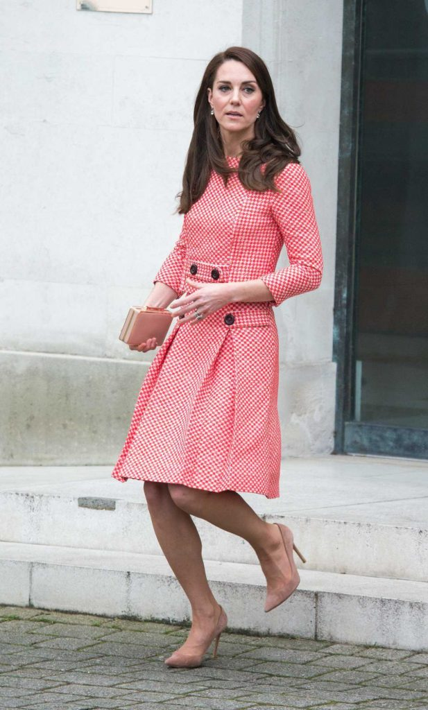 Kate Middleton Attends the Launch of the Out of the Blue Series in London 03/23/2017-1