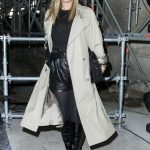 Kate Moss at the Saint Laurent Show During the Paris Fashion Week 02/28/2017-2