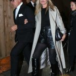 Kate Moss at the Saint Laurent Show During the Paris Fashion Week 02/28/2017-5