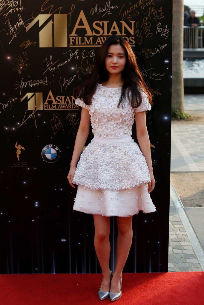 Kim Tae-ri at Asian Film Awards in Hong Kong 03/21/2017-1