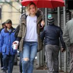 Olivia Wilde on the Set of the Life Itself in Uptown Manhattan 03/24/2017-2