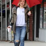 Olivia Wilde on the Set of the Life Itself in Uptown Manhattan 03/24/2017-3