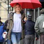 Olivia Wilde on the Set of the Life Itself in Uptown Manhattan 03/24/2017-4
