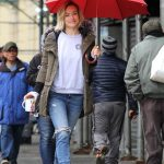 Olivia Wilde on the Set of the Life Itself in Uptown Manhattan 03/24/2017-5