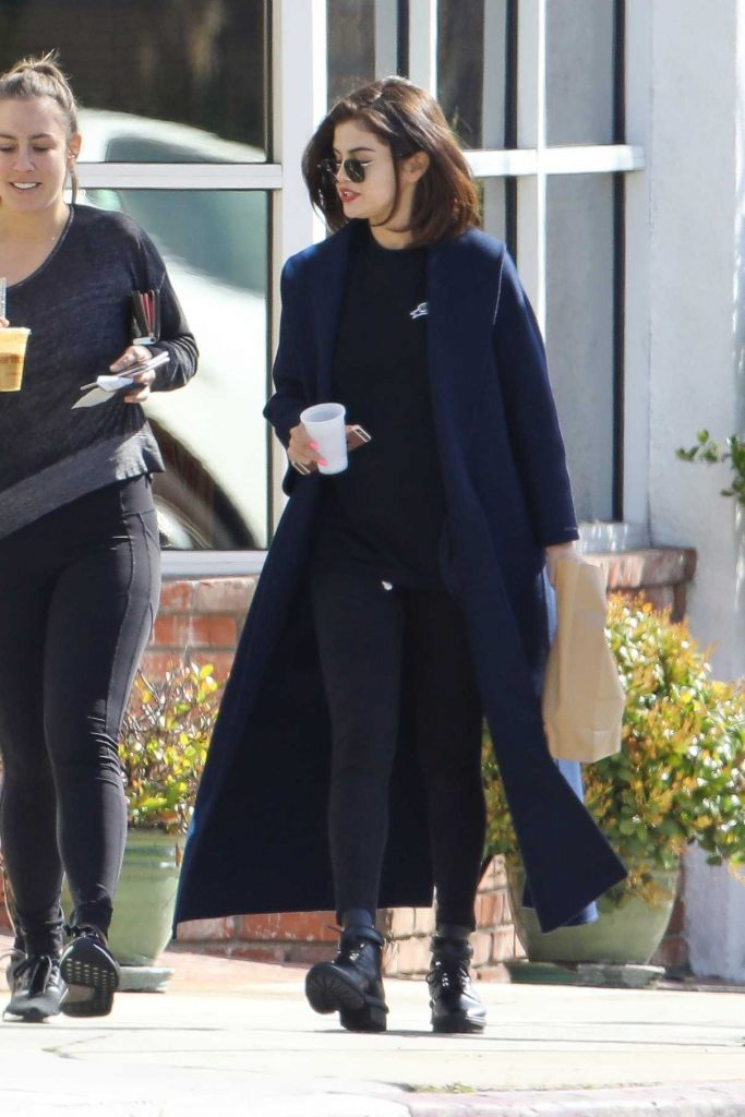 Selena Gomez Out for a Breakfast in Los Angeles 03/07/2017-1