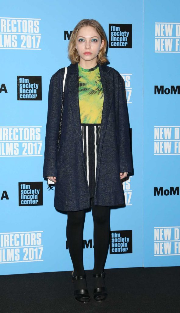 Tavi Gevinson at the Person to Person Screening in New York 03/25/2017-1