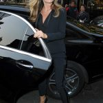 Abbey Clancy Arrives at the Bradley Theodore The Second Coming VIP Private View at Maddox Gallery in London 04/19/2017