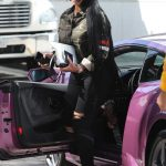 Blac Chyna Arrives at a Social Security Office in Los Angeles 03/30/2017