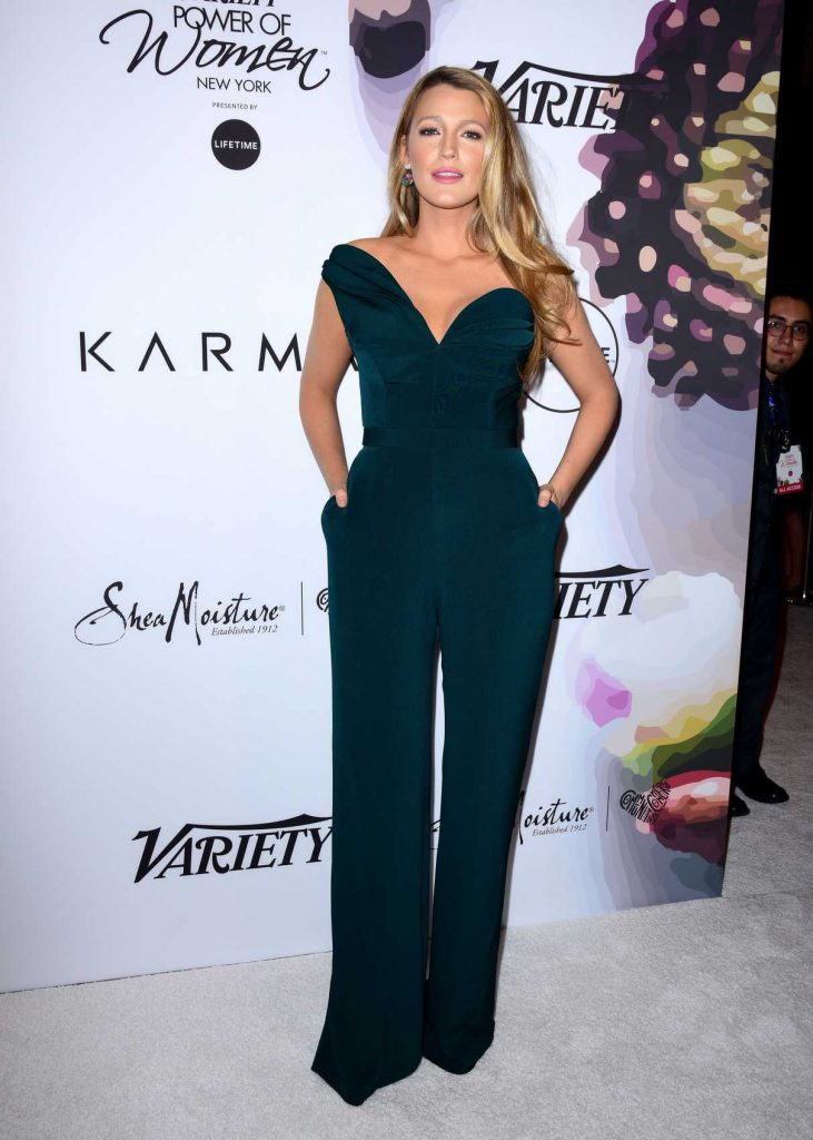 Blake Lively at Variety's Power of Women NY Presented by Lifetime in New York 04/21/2017-1
