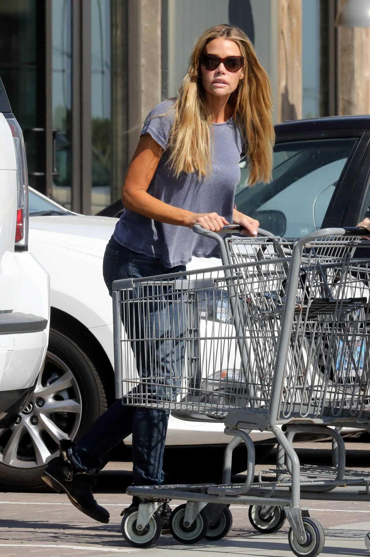 Denise Richards Goes Grocers Shopping in Malibu 04/10/2017-2