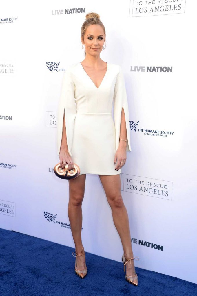 Laura Vandervoort at the Humane Society of the United States' Annual to the Rescue! Los Angeles Benefit in Hollywood 04/22/2017-1