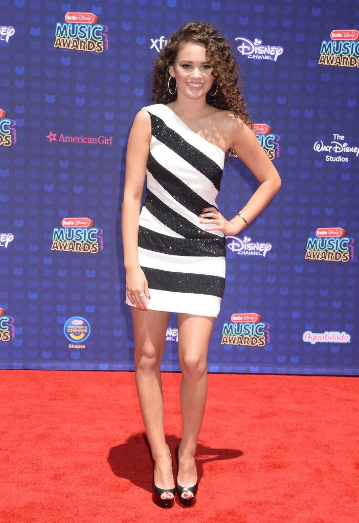 Madison Pettis at the 2017 Radio Disney Music Awards in Los Angeles 04/29/2017-1