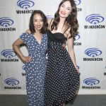 Mallory Jansen at Agents of Shield Press Room at WonderCon in Anaheim 04/01/2017-3