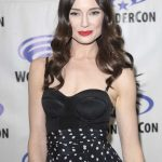 Mallory Jansen at Agents of Shield Press Room at WonderCon in Anaheim 04/01/2017-4