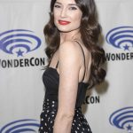 Mallory Jansen at Agents of Shield Press Room at WonderCon in Anaheim 04/01/2017-5