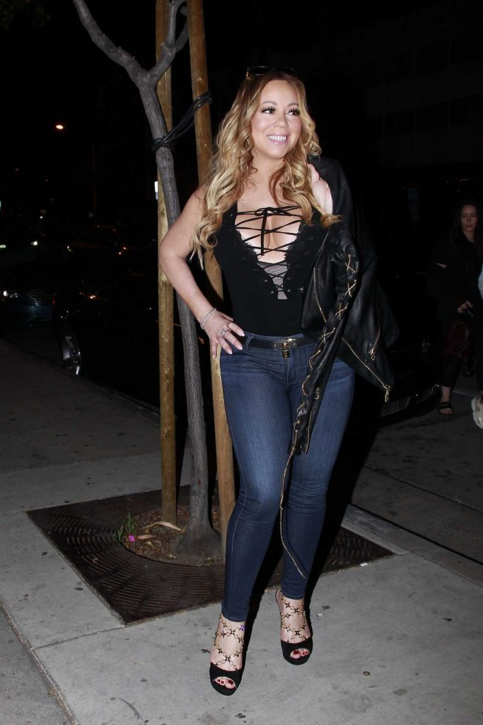 Mariah Carey Was Seen Out in Hollywood 04/22/2017-1