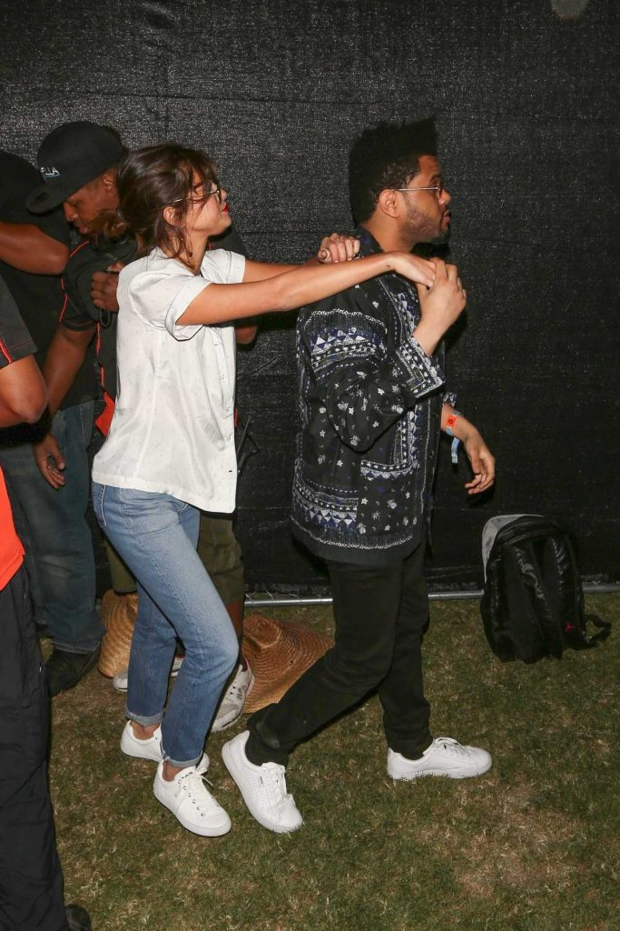Selena Gomez Was Seen With The Weeknd at Coachella Valley Music and Arts Festival in Indio 04/14/2017-1