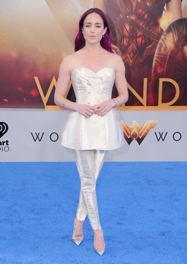 Caity Lotz at the Wonder Woman Premiere in Los Angeles 05/25/2017-1